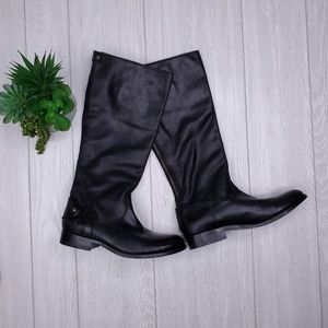 Frye Melissa Button 2 Knee High Riding Boots 9
